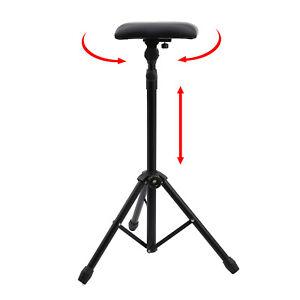 Professional tattoo adjustable standing portable stool tattoo rest studio chair