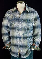"Robert Graham ""Faccendiere Al"" NWT $398 Limited Edition Sports Shirt Medium"