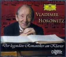 VLADIMIR HOROWITZ : DER LEGENDÄRE ROMANTIKER AM KLAVIER / 4 CD-SET - TOP-ZUSTAND