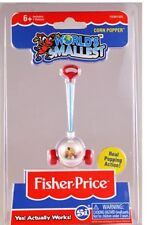 World's Smallest Fisher Price Corn Popper #525 Miniature, FP, Push, 1980s Toy