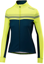 NEW! Altura Women's Nightvision 4 Long Sleeve Cycling Jersey - Blue / Hi-Vis