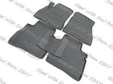 Fully Tailored Rubber Car Floor Mats Carpet for NISSAN SENTRA 2013—2017 ONE FIX