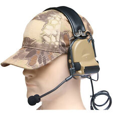 Outdoor Hunting Z Tactical Headset Airsoft Paintball Noise Reduction Headset