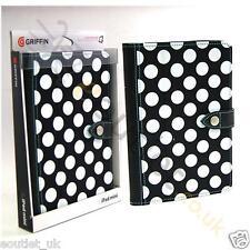 Griffin trasera Bahía Funda Para Folio iPad Mini 1/2/3 - Negro Lunares NUEVO
