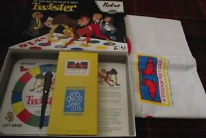 SUPERB HASBRO RETRO SERIES TWISTER RARELY IF EVER PLAYED CONTENTS MINT
