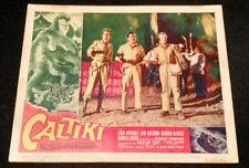 Caltiki, the Immortal Monster 1960 Vintage lobby card