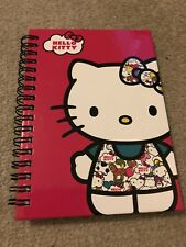 Hello Kitty Notebook Pink Ring Bind New