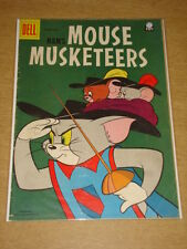 MOUSE MUSKETEERS #12 VG (4.0) TOM AND JERRY MGM DELL COMICS APRIL 1958