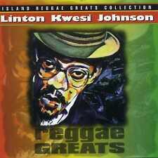 LINTON KWESI JOHNSON - REGGAE GREATS - NEW CD!!
