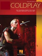Coldplay Sheet Music Piano Play-Along Book and Audio NEW 000316506