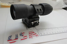4X Magnifier FTS Flip to Side for eotech aimpoint or similar scopes sights