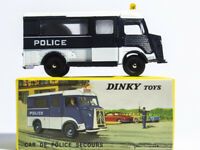 1/43 Diecast Car Model Atlas Dinky Toys 566 Car De Police Secours CITROEN-CURRUS