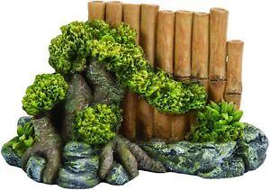 Vivid Arts, Miniature World - Bamboo Fence Garden Decor - (MW09-031)