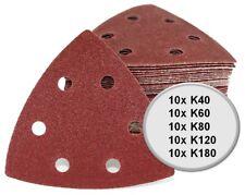 Delta Dreieck Schleifpapier A97 für Deltaschleifer Bosch PDA 180 und PDA 180 E