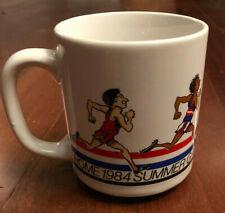 VINTAGE 1984 Los Angeles Summer Olympics Mug