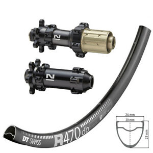 DT Swiss R470 disc / Novatec 411/412SB / DT Competition Race 1570g Laufradsatz
