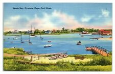 Lewis Bay, Hyannis, Cape Cod, MA Postcard *329