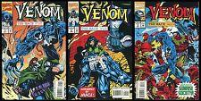 Venom The Mace Comic Set 1-2-3 Lot Spider-Man Symbiote Eddie Brock Techno-Ninjas