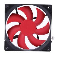 12cm DC12V 1100RPM 50000h USB 2Pin Ultra Quiet Computer Cooling Fan Cooler !