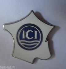 Pin's pin PEINTURE ICI VALENTINE FRANCE ARTHUS BERTRAND (ref L33)