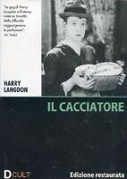Dvd video **IL CACCIATORE** Edizione Restaurata di Harry Langdon nuovo 1928