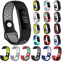 Silicone Sports Watch Strap Band Bracelet For Fitbit Charge 3 Fitness Tracker