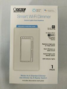 Feit Electric Wi-Fi Smart Dimmer 3-Way Single Switch Alexa with Google Assistant