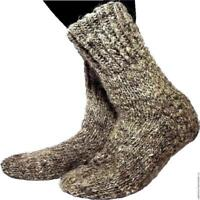 Super Warm 100% Sheepskin Sheep Wool Winter Socks Fuzzy Soft Warming Knitted New