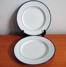 """Dansk Concerto Allegro Blue 2 Salad Plates 9"""" Japan"""