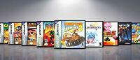 Custom Covers and Cases for Gameboy Advanced GBA: Titles D-G. NO GAMES!!!