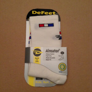 DeFeet Bike bicycle frame socks France French Patriot size Small