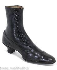 Chaussures de Luxe Knopfstiefel Grannys Vintage Brocante Jugendstil Elegant 36