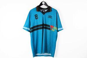 UMBRO Polo T-Shirt Blue Size XXL athletic sport tee