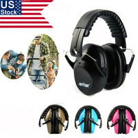 US 31dB Foldable Shooters Hearing Protection Noise Reduction Safety Ear Muffs