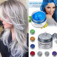 Unisex 7 Colors mofajang DIY Hair Color Wax Mud Dye Cream Temporary Modeling new