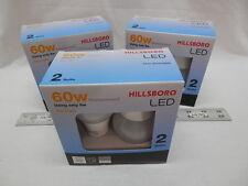 Six LED Bulb Daylight 5000K 9w (60w replacement) Light 9 10 13 60 watt Free Ship