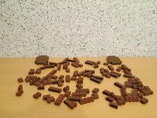 Wall Brick 1x2x2 Neu New 4 X lego 3245 Lego Wand Pfeiler Braun, Braun