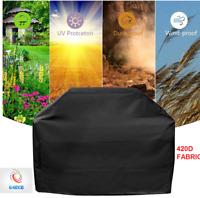 Waterproof BBQ Grill Garden Patio Sun Rain Snow Cover Protector Outdoor 420D