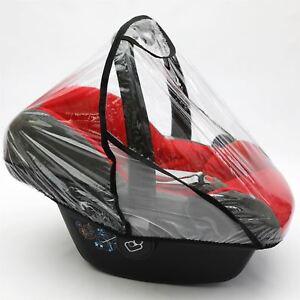 Rain Cover to fit CYBEX ATON car seat Raincover VENTILATED (Black)