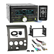 Pioneer CD USB Bluetooth Stereo Dash Kit Amp Harness for Nissan Armada Titan