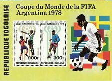 Togo #C349a MNH S/S World Cup Argentina 1978