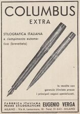 Z3942 COLUMBUS Extra stilografica italiana - Pubblicità d'epoca - 1937 old ad
