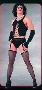 Adult Frank N Furter Mens Rocky Horror Show Halloween Fancy Dress Costume Outfit