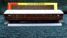 Fleischmann HO 1505 MAROON SLEEPING SCHLAFWAGEN CAR ORIGINAL BOX