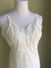 Pretty Vintage Corset Slip No Flaws Size 36 B Numerous In Variety Slips & Petticoats