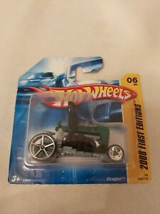 2008 Hotwheels first editions Carded Dragtor