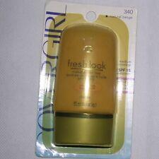 CoverGirl SPF15 Fresh Look (340) Natural Beige Medium Coverage Makeup 1oz SEALED