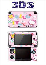 SKIN STICKER AUTOCOLLANT DECO POUR NINTENDO 3DS REF 28 KITTY