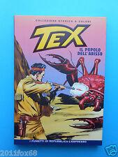 tex n. 24 collezione storica a colori il popolo dell'abisso fumetti repubblica