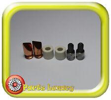 Scope Orange SS Soldering Iron Copper Tips 6mm x2, Carbons x2 & Ceramics x2